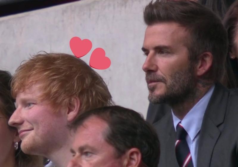 Euro 2020- Bắt gặp Ed Sheeran và David Beckham dự khán trận so tài Anh vs Đức - VTC Now