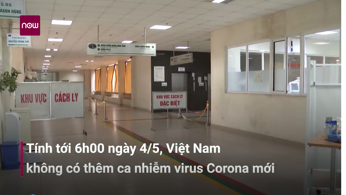 Sáng 4_5- Việt Nam không có ca nhiễm virus Corona mới