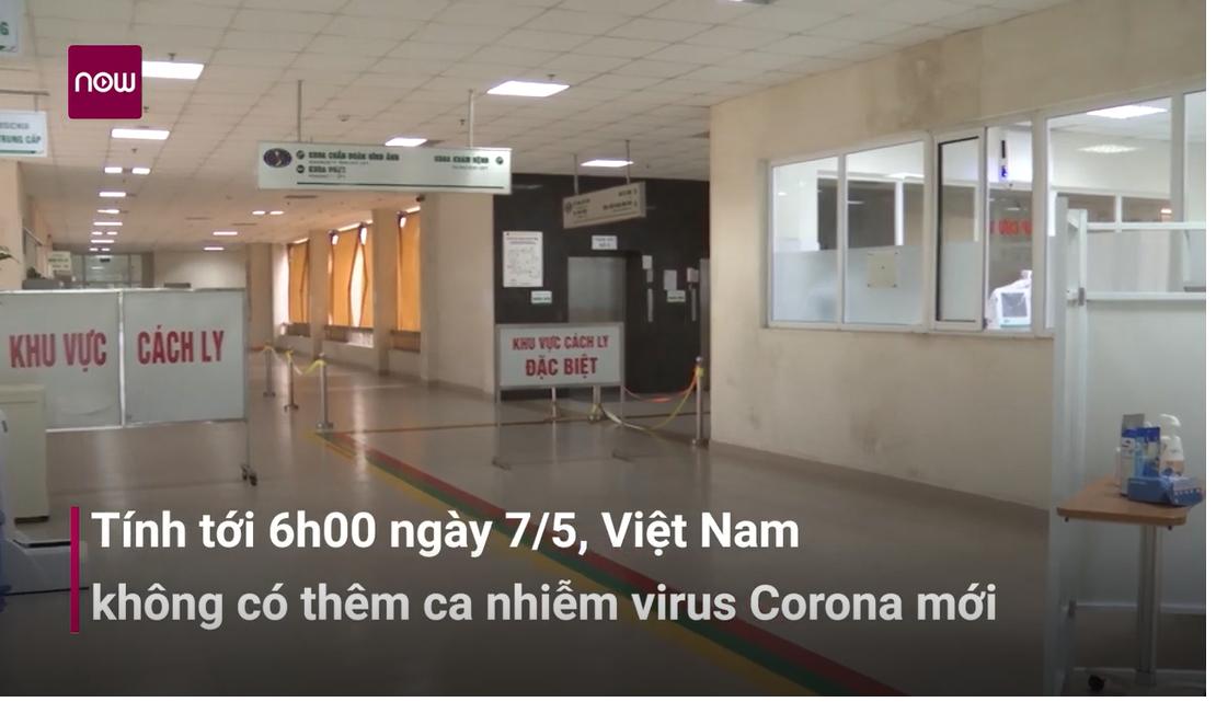 Sáng 7_5- Việt Nam không có ca mắc Covid-19 mới