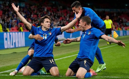 Euro 2020 - Italia 2-1 Áo- Thắng nghẹt thở, Italia giành vé vào tứ kết - VTC Now