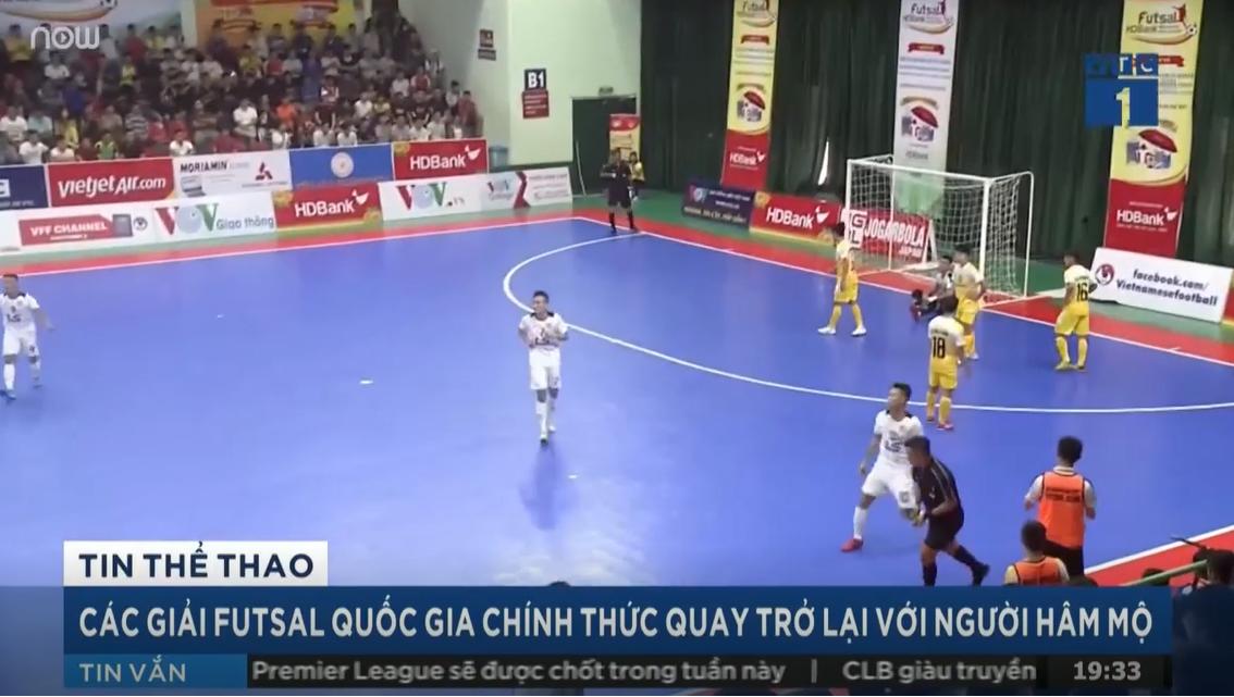 Các giải Futsal Quốc gia chính thức quay trở lại